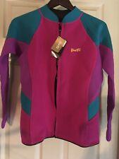 GoldFin Women's Wetsuit Top 2 MM Wet Suit Jacket New