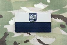 Infrared Poland Flag Patch JW GROM Formoza Komandosów Specjalne IR VELCRO® Brand
