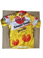 UCI PRO TOUR SAUNIER DUVAL PRODIR CYCLING TEAM 2006 JERSEY SIZE; 50/ XL