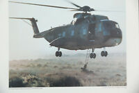 US Air Force Sikorsky S-61R HELICOPTER PRINT 17x23 poster lithograph ch-3e photo