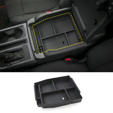 1x Center Armrest Storage Tray Box Organizer for Ford F150 2015-2019 Accessories