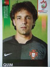 Panini 123 Quim Portugal UEFA Euro 2008 Austria - Switzerland
