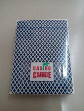 CARTE DA GIOCO  BEE CARIBE CASINO,poker size