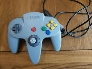 Official Nintendo 64 N64 Original Grey Controller # 3