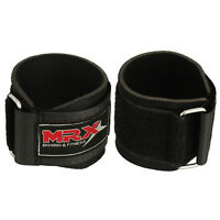 Weightlifting Wrist Wraps Gym Training Lifting Straps Workout Crossfit Black MRX