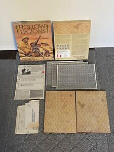 Avalon Hill Hollow Legions 1989 ASL Module #7 Unpunched Complete
