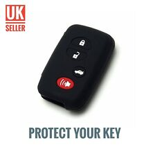 Black Silicone Flip Key Cover Fob For Toyota 4Runner Avalon Corolla Rav4 /-cz1-/