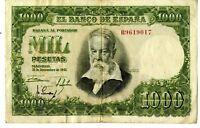 Billete de España 1000 pesetas Joaquin Sorolla B9619017