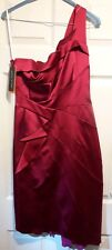 Stunning Karen Millen cocktail Dress Fuchsia size 12. Perfect for christmas