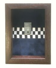 Small Police Medal Display Case For 2 Medals