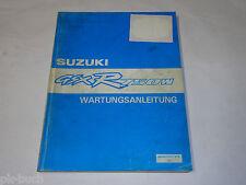 Werkstatthandbuch Suzuki GSX-R 750 W / GSX-R750W / Modell 92, Stand 12/1992