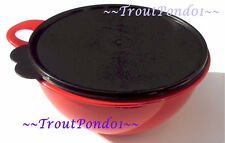 New TUPPERWARE Thatsa Bowl Junior 12 Cups Red and Black