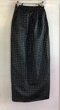 Vintage Chloe Long Black Evening Dress Skirt Size 34 36 XS 0