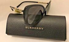 5e0e87ca068b NWT Burberry Sunglasses B4238 3001 8G Black Gold Frame with Grey Gradient  Lenses