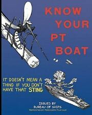 Know Your Pt Boat by Bureau Of Ships (2010, Paperback)