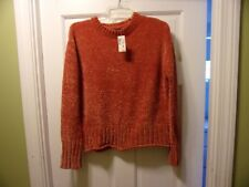 NWT Aeropostale Size S/P Dark Orange Soft Pullover Sweater Long Sleeve