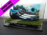 ✺Signed✺ MARC JANKO Football Boot PROOF COA Sydney FC A-League 2018 Jersey