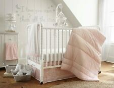Levtex Baby Baby Ely Pink 5 Piece Crib Bedding Set & Diaper Stack - MSRP $179.99