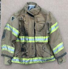 Janesville 2000 Turnout Bunker Coat Fire Fighting Firefighter Lion Gear 44 X 29