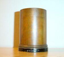 Antique Brass Triplet Petzval Camera Projection Lens