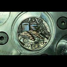 Hand engraved buffalo hobo nickel coin