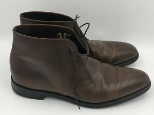 Loake 1880 Pimlico Men's Boots Size 12 Brown Made In England