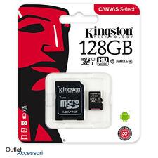 Memoria Memory Card Micro SDXC Kingston 128GB Samsung Galaxy S8 S9 Plus Note 8 9