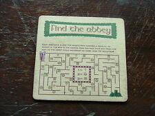 Beermat Coaster Guinness Find the abbey Kilkenny BM229