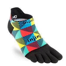 Injinji Spectrum Run Socks Lightweight No Show Edge