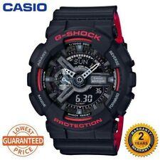 Original Casio G-Shock GA100 Men Sport Quartz Watch #110 black red