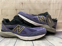 New Balance 990v4 Wild Indigo Purple Shoes Made In The USA M990BP4 Men's Size 11