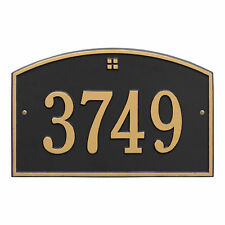Cape Charles One Line Personalized Address Plaque