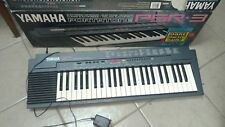 Yamaha Psr-3 49-Key 100-Voice Portable Electronic Keyboard with original box