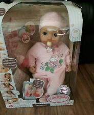 Baby Annabell. Interactive Cries Real Tears with extra pacifier