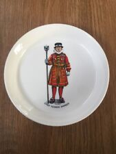 Vintage RWL London Chief Yeoman Warder H.M Tower of London Coaster Ceramic