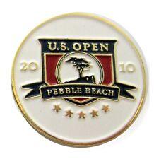 US Open 2010 Pebble Beach White Ball Marker & Hat Clip