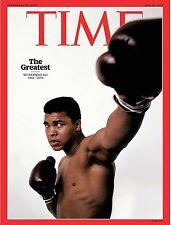 TIME Magazine: Muhammad Ali 1942 - 2016 (June 20, 2016) BRAND NEW - FREE SHIP!