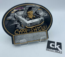 Resin Car Show Plaque Trophy (blank) G5