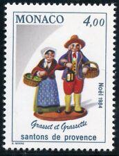 STAMP / TIMBRE DE MONACO N° 1445 ** LES SANTONS DE PROVENCE GRASSET ET GRASSETTE