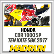 Kit Adesivi Honda CBR 1000 SP Team Ten Kate SBK Superbike 2017 - Light Version