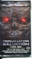 Terminator Salvation Factory Sealed Hobby Packet / Pack