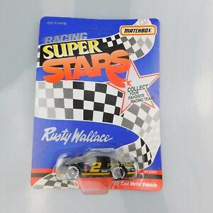 VTG 1992 Rusty Wallace #2 Pontiac Excitement Matchbox Racing Super Stars NASCAR