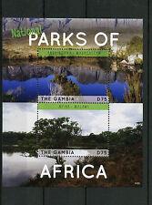 Gambian Sheet Postal Stamps
