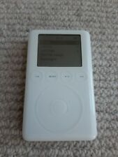 Apple iPod Classic 3rd Generation White (40GB) with new battery