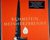 RAMMSTEIN Mein Herz Brennt 5 Tracks Orig. 2012 F/S GERMAN CD for UK Market