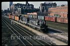 Original Slide - Illinois Central IC 9372 GP-9 Action on Local Chicago IL 1970