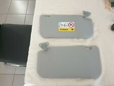 2x Grey Car sun Visors in Food condition, From a Mitsuibishi Lancer 2017 CF
