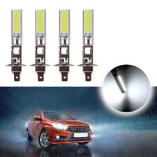 4x 6000K White H1 CREE LED Headlight High Low Beam Light SMD Bulbs Vehicle Lamp
