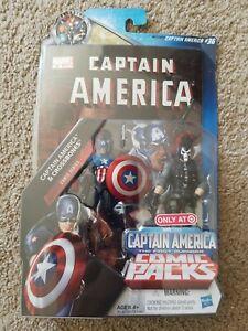 Marvel Studios First Avenger Comic Packs Captain America & Crossbones Figures 36
