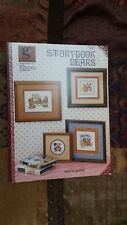 STORYBOOK BEARS TEDDY BEAR SAMPLER CROSS STITCH PATTERN FREE SHIPPING